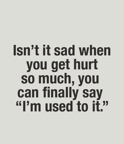 Isnt it sad