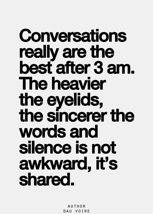 Conversations are shared