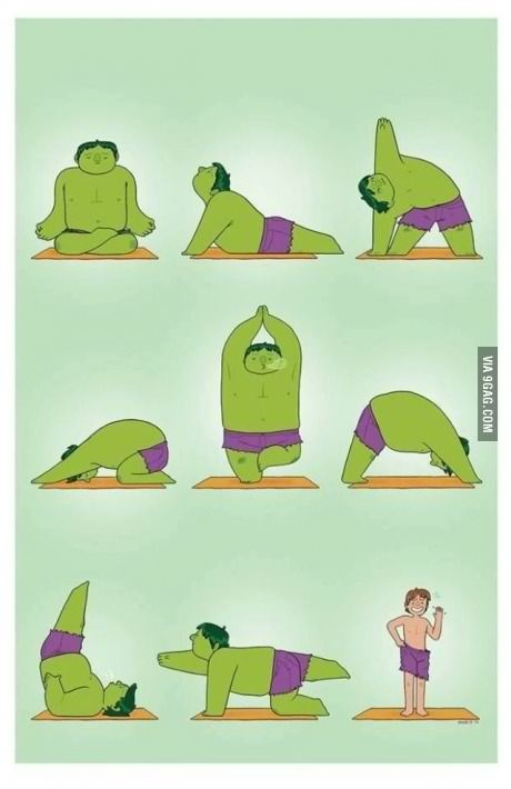 Hulk's Exercise