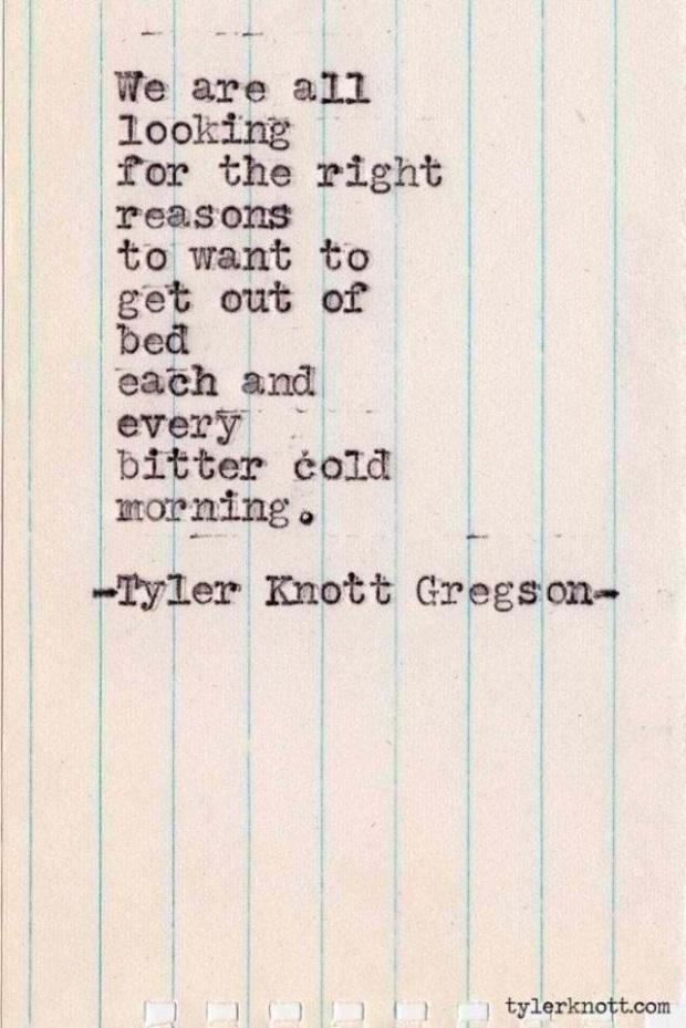 Tyler Knott Gregson #319