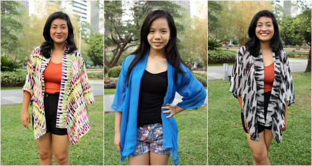 Max and Lily Regular Kimono at P200 each