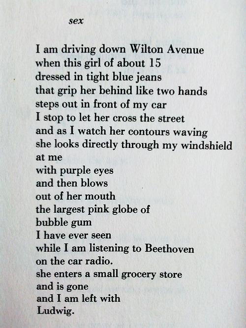 Bukowski - sex