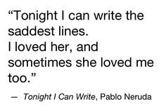 The saddest lines
