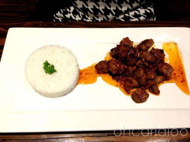 Beef Salpicao (P220)