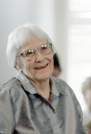 Harper Lee in 2007 PHOTOGRAPH BY ROB CARR/AP