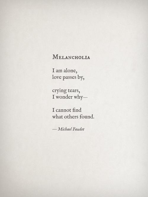Michael Faudet - Melancholia