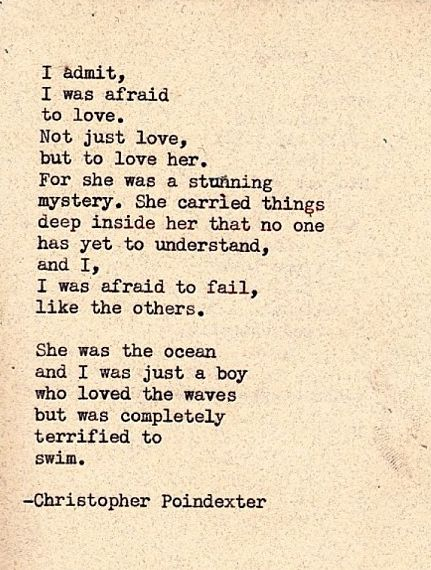 Christopher Poindexter - Terrified To Swim