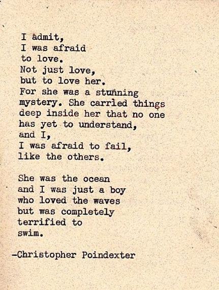 Christopher Poindexter - Terrified To Swim