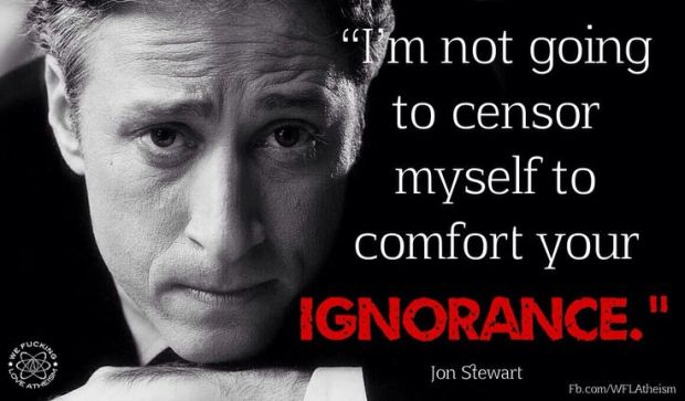 Jon Stewart on Censorship