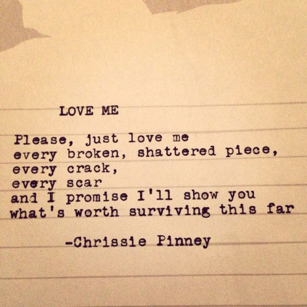 Love me - Chrissie Pinney