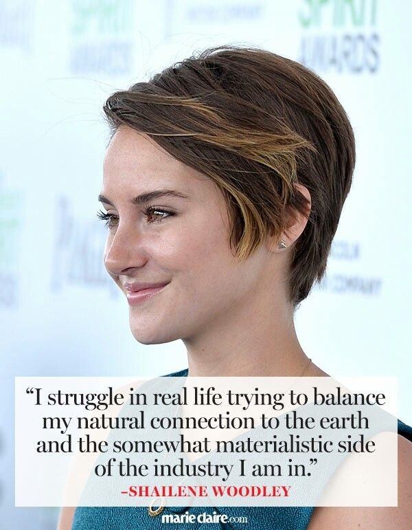 Somewhat Materialistic - Shailene Woodley
