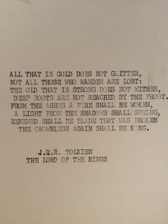 J R R Tolkien, Lord of the Rings