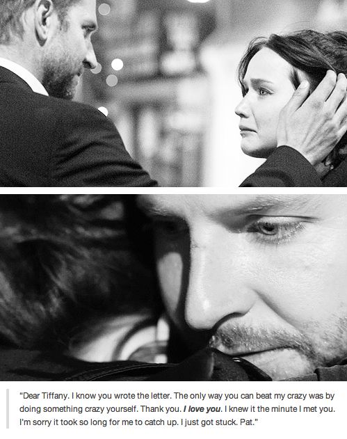 Silver Linings Playbook - I just got stuck, Pat