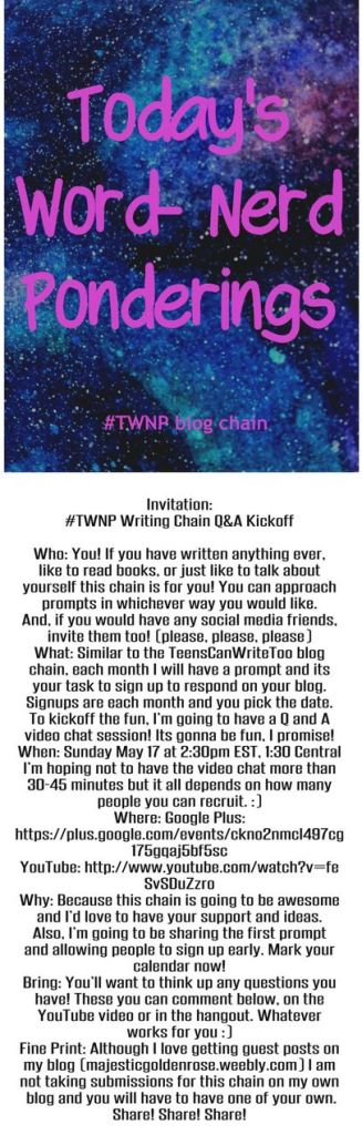 TWNP Writing Chain