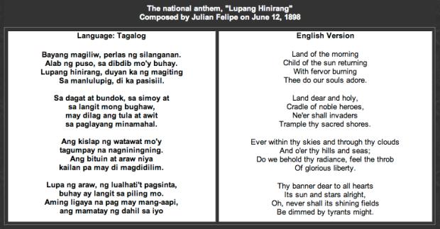 lupang hinirang Print and download lupang hinirang (bayang magiliw) sheet music composed  by julian felipe sheet music arranged for piano/vocal/chords in g major.