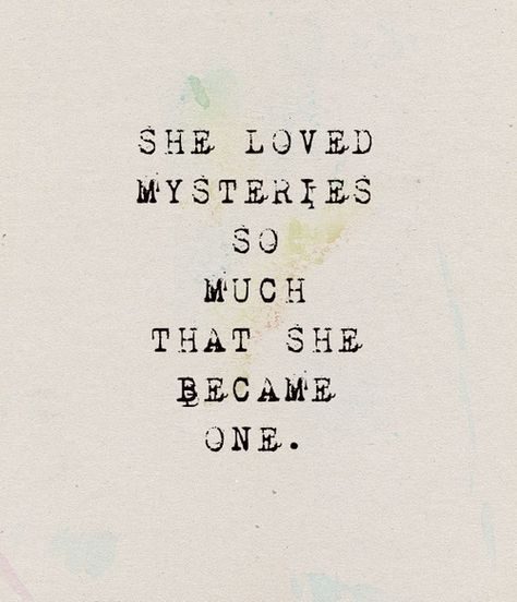 She became one