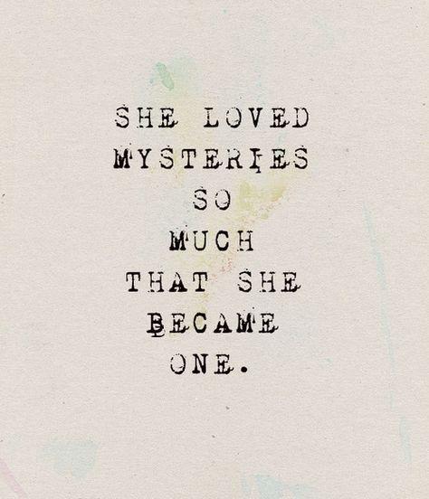 She became one