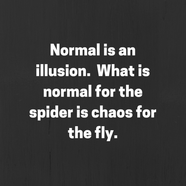 20150705 Normal is an illusion