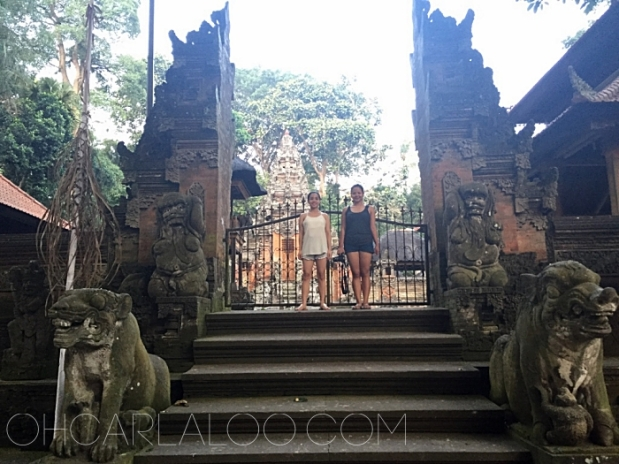 There was a temple behind this gate.