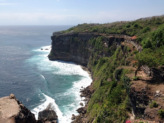 You can't not go to Uluwatu. You will miss this view.