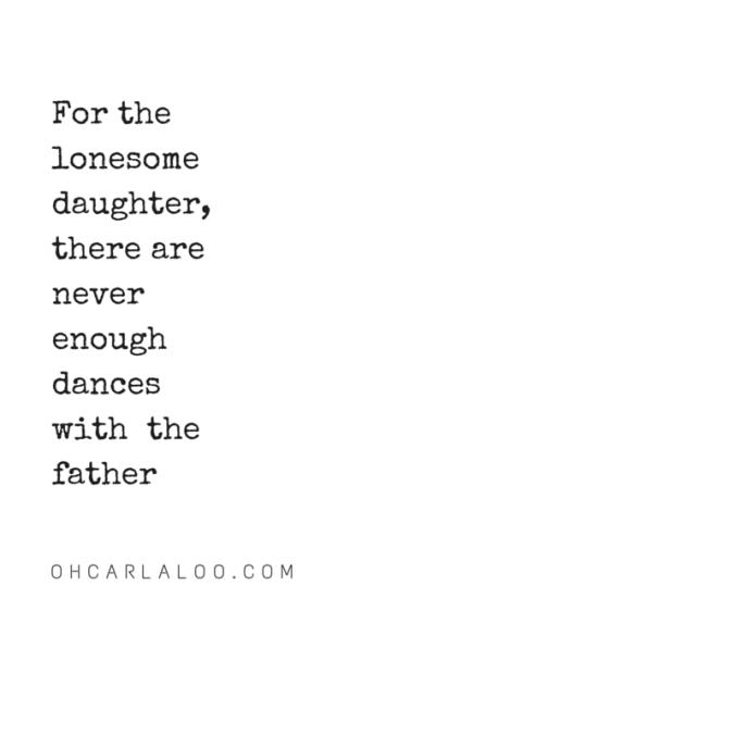 OHCARLALOO.COM The lonesome daughter