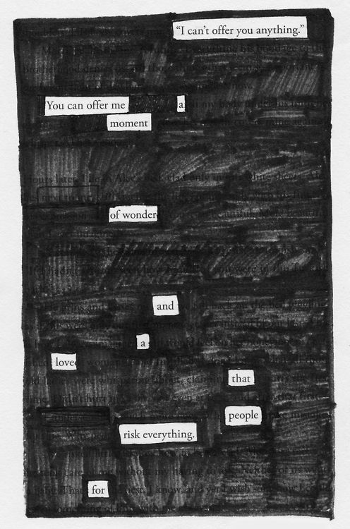 NPM 20160427 Offer - Black out Poetry