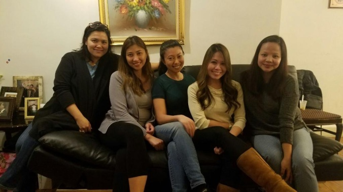 The BJJ Wives. These are just a few actually, just the Filipino delegates. LOL. There's more of us, more than you can imagine.